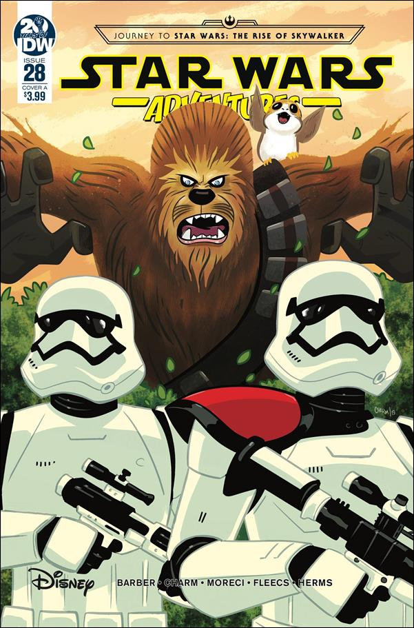 Star Wars Adventures 28-A by IDW