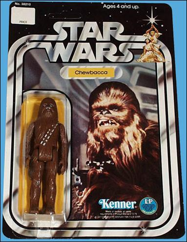 "Star Wars 3 3/4"" Basic Action Figures (Vintage) Chewbacca (SW 12-Back) by Kenner"