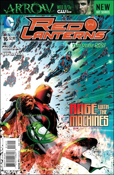 Red Lanterns 16-A by DC