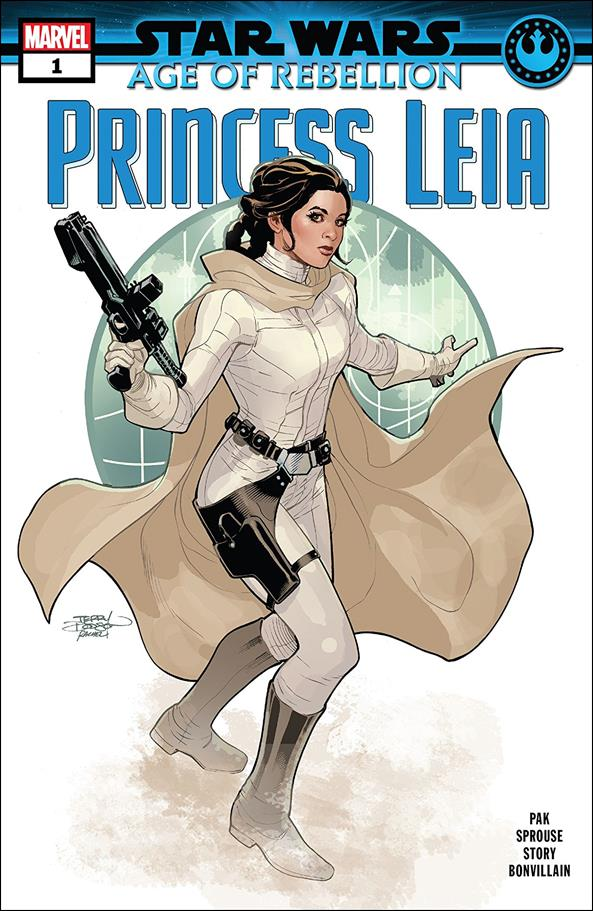 Star Wars: Age of Rebellion - Princess Leia 1-A by Marvel