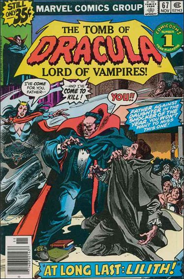 Tomb of Dracula (1972) 67-A by Marvel