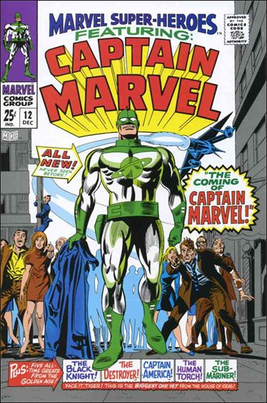 Marvel Super-Heroes (1967) 12-A by Marvel
