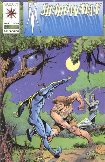 Shadowman (1992) 6-A by Valiant
