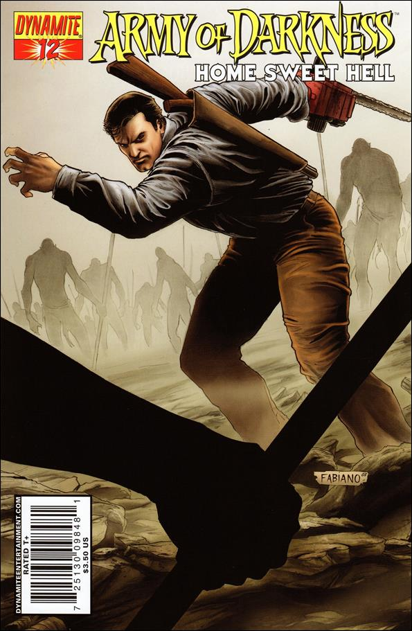Army of Darkness: Home Sweet Hell 12-A by Dynamite Entertainment