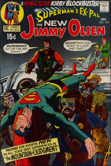 Superman's Pal Jimmy Olsen 134-A by DC