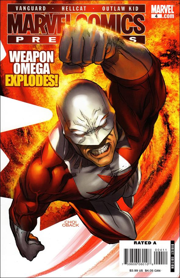 Marvel Comics Presents (2007) 4-A by Marvel