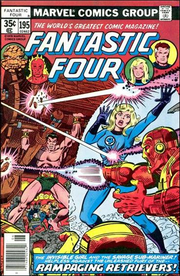 Fantastic Four (1961) 195-A by Marvel