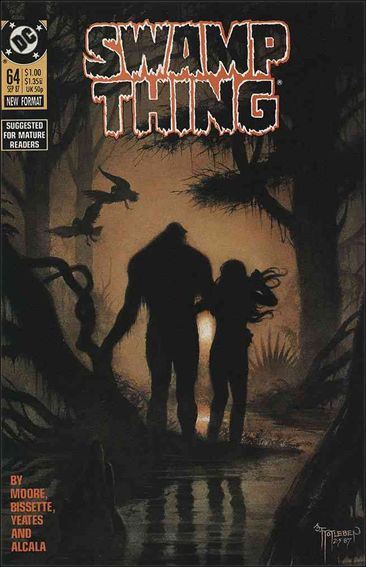 Swamp Thing (1986) 64-A by Vertigo