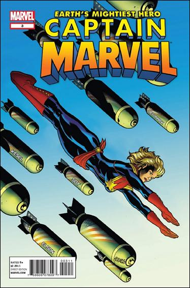 Captain Marvel (2012) 3-A by Marvel