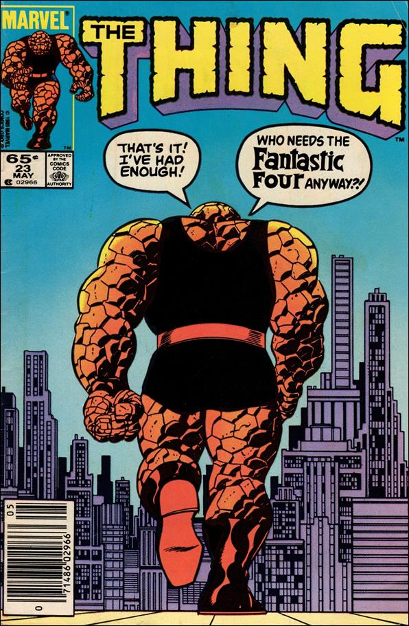 Thing (1983) 23-A by Marvel