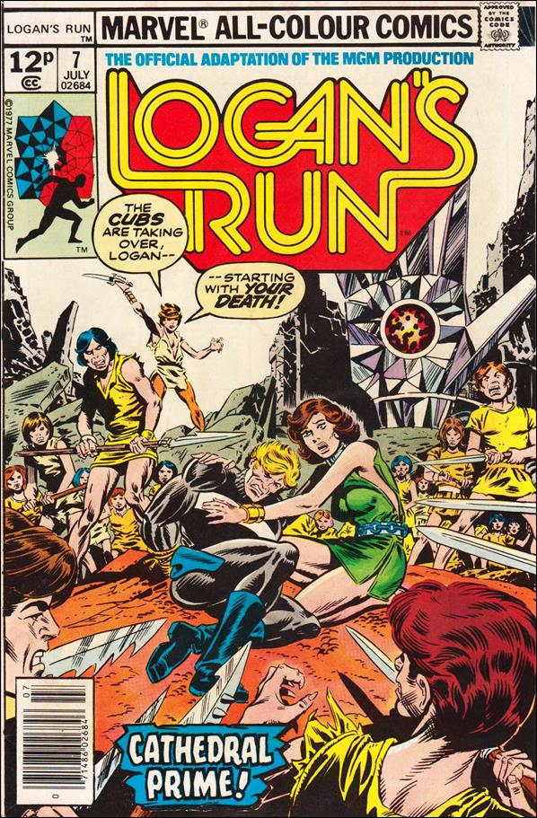 Logan's Run (1977) 7-C by Marvel