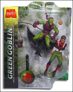 Marvel Select Green Goblin w/Spider-Man by Diamond Select
