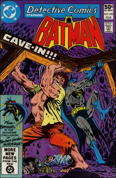 Detective Comics (1937) 499-A by DC
