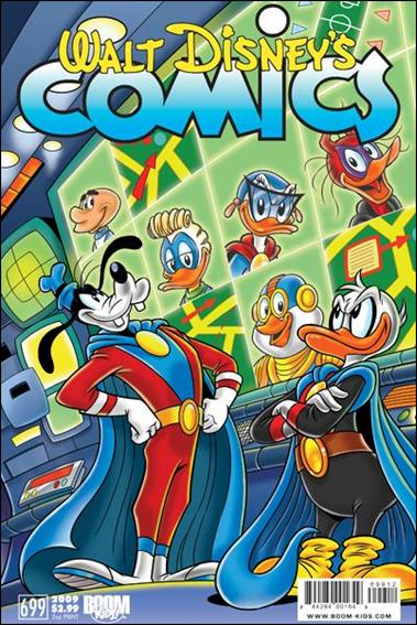 Walt Disney's Comics and Stories (2009) 699-D by Kaboom!