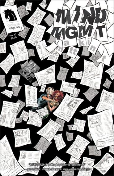 Mind MGMT 12-A by Dark Horse Originals