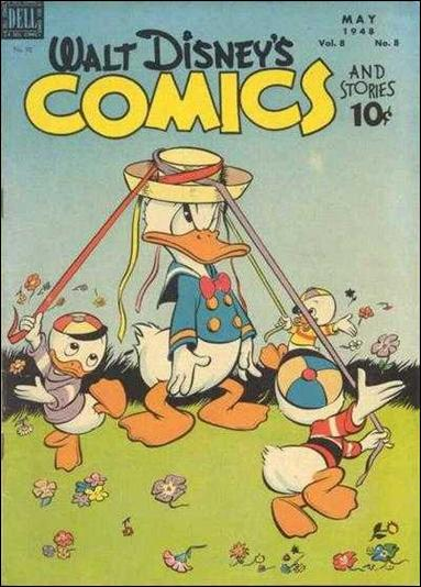 Walt Disney's Comics and Stories (1940) 92-A by Dell