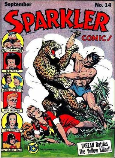 Sparkler Comics (1941) 14-A by United Features Syndicate