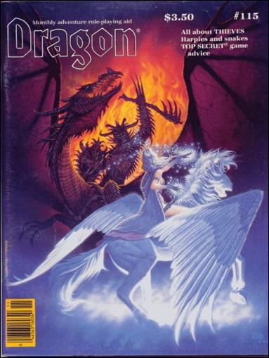Dragon Magazine 115-A by Wizards of the Coast