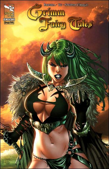 Grimm Fairy Tales (2005) 55-A by Zenescope Entertainment