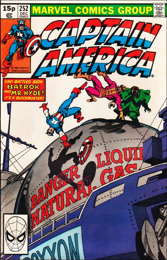 Captain America (1968) 252-B by Marvel