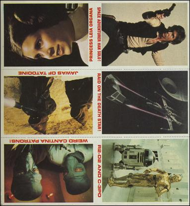 "Star Wars Burger King ""Everybody Wins"" (Promo Uncut Sheet) nn-6-A by Lucasfilm Ltd."
