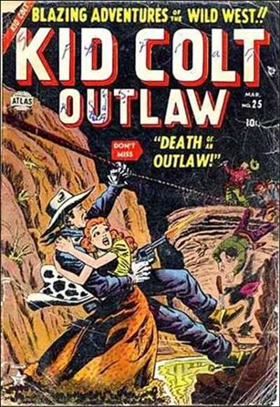 Kid Colt Outlaw  25-A
