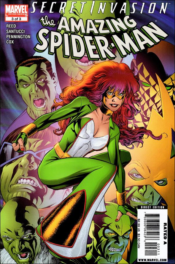 Secret Invasion: The Amazing Spider-Man 3-A by Marvel