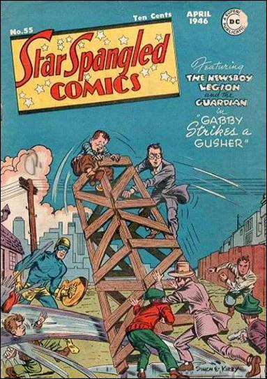 Star Spangled Comics (1941) 55-A by DC
