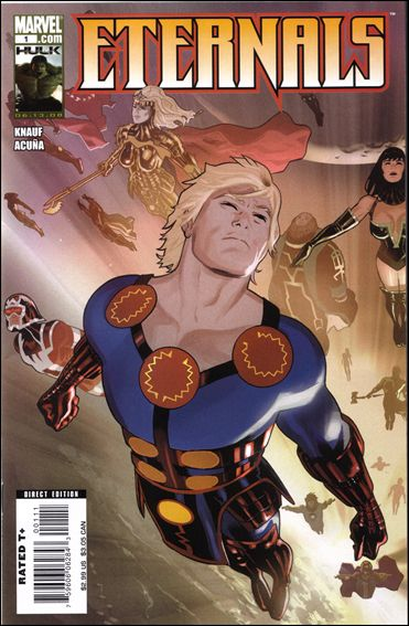 Eternals (2008) 1-A by Marvel