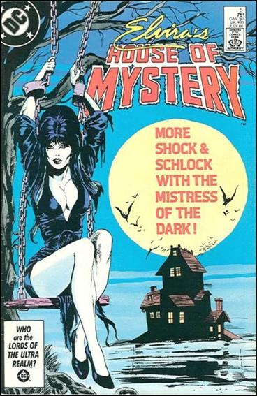 Elvira's House of Mystery 5-A by DC