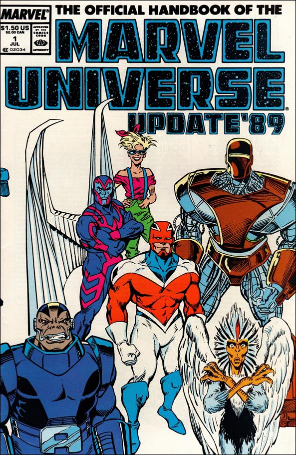 Official Handbook of the Marvel Universe (1989) 1-A by Marvel