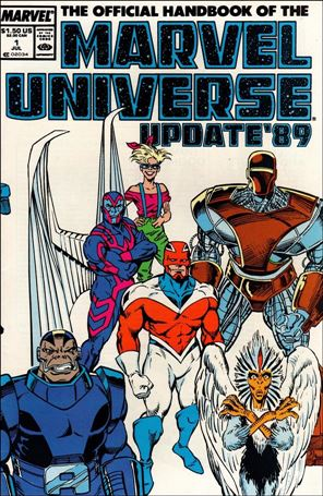 Official Handbook of the Marvel Universe (1989) 1-A