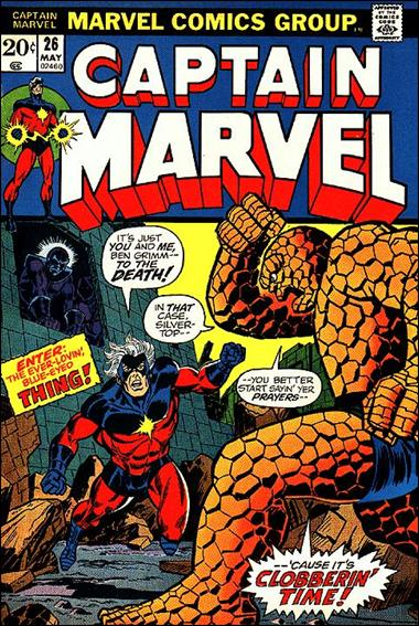 Captain Marvel (1968) 26-A by Marvel