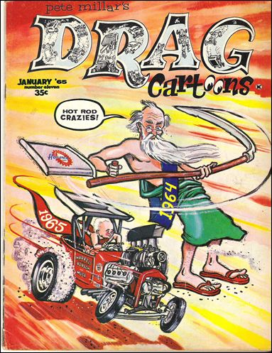 Drag Cartoons (1963) 11-A by Millar