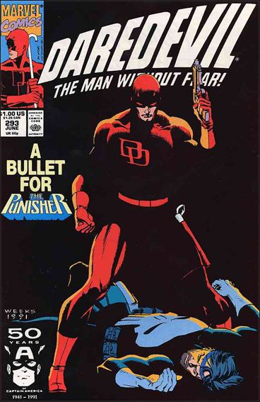 Daredevil (1964) 293-A by Marvel