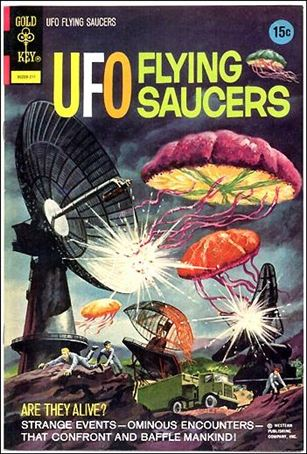 UFO Flying Saucers 3-A