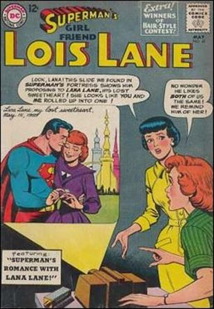 Superman's Girl Friend Lois Lane 41-A