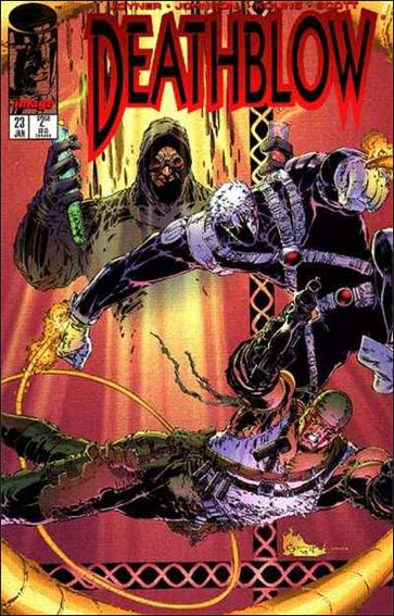 Deathblow (1993) 23-A by Image