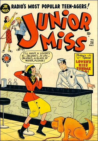 Junior Miss (1947) 38-A by Marvel