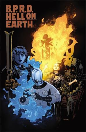 B.P.R.D. Hell on Earth (2012) 118-B