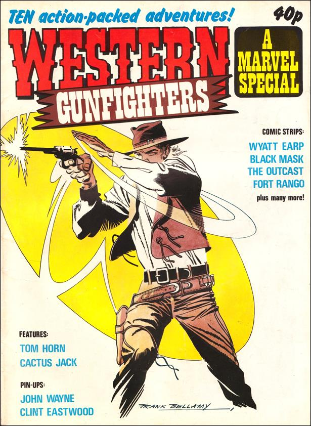 Western Gunfighters Special (UK) 1-A by Marvel UK