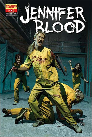 Jennifer Blood 23-A by Dynamite Entertainment