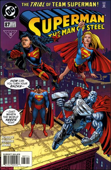 Superman: The Man of Steel 87-A by DC