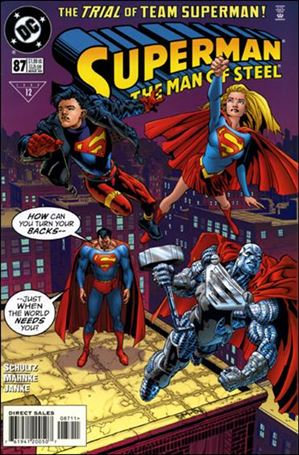 Superman: The Man of Steel 87-A