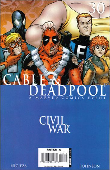 Cable & Deadpool 30-A by Marvel