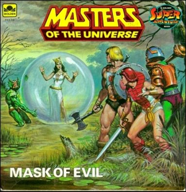Masters of the Universe (1983) 11,370-B by Western Publishing Co.
