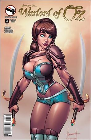 Grimm Fairy Tales Presents Warlord of Oz 3-C