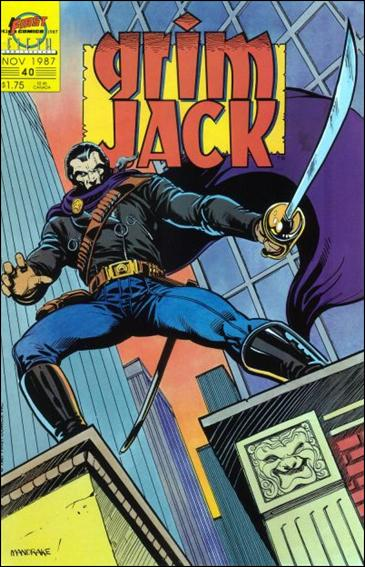 Grimjack 40-A by First