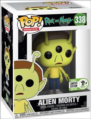 POP! Animation Alien Morty Emerald City Comicon 2018