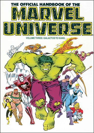 Official Handbook of the Marvel Universe 3-A by Marvel